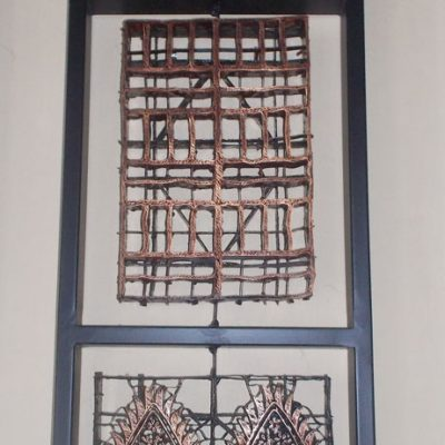 Batik Stamp Wall Decoration GMV-5680