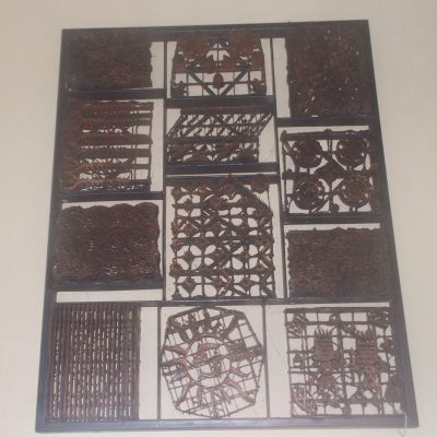 Batik Stamp Wall Decoration GMV-5684