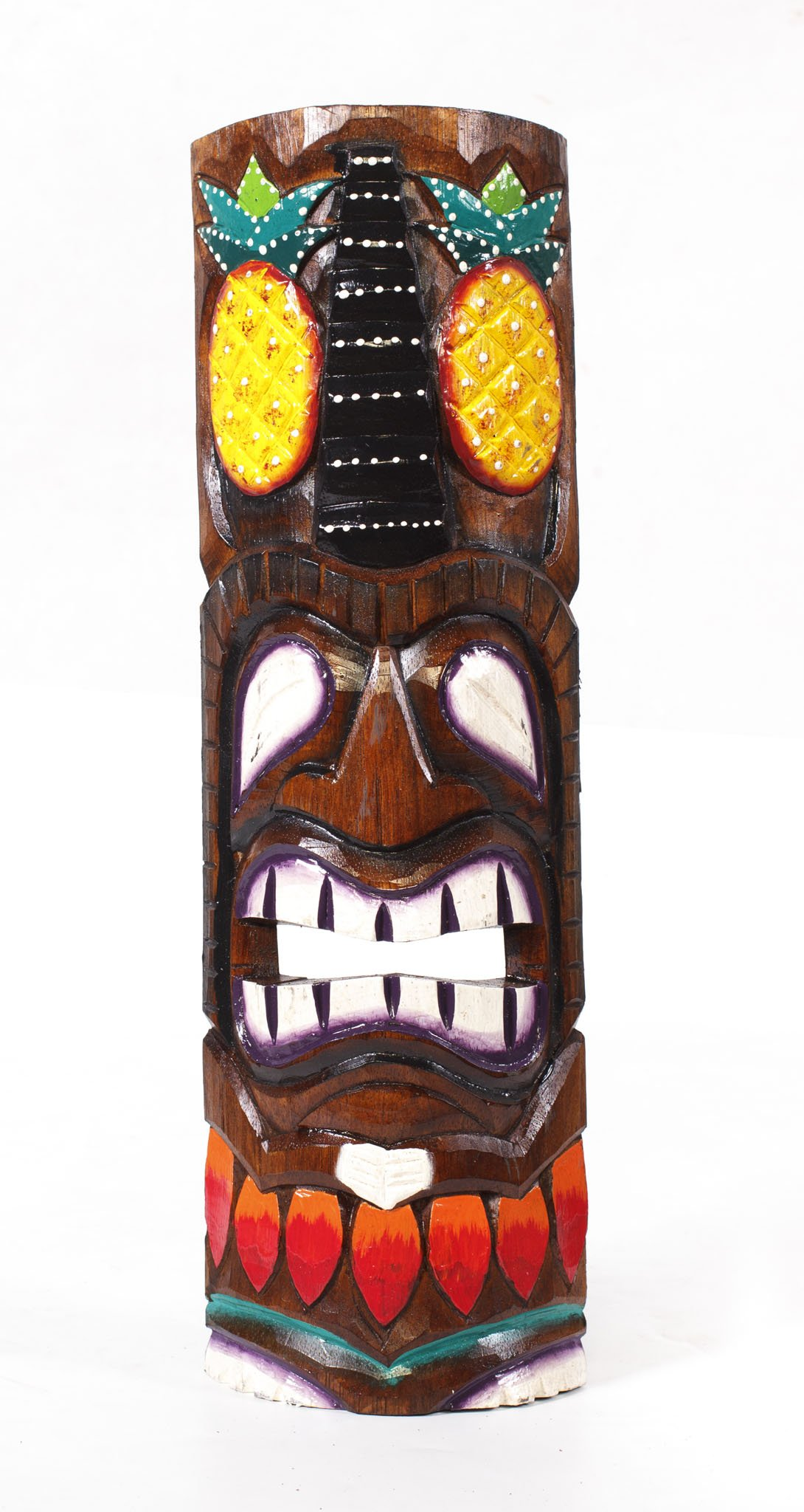Hawaii Style Tiki Masks Chstk 3780b Indonesia Export