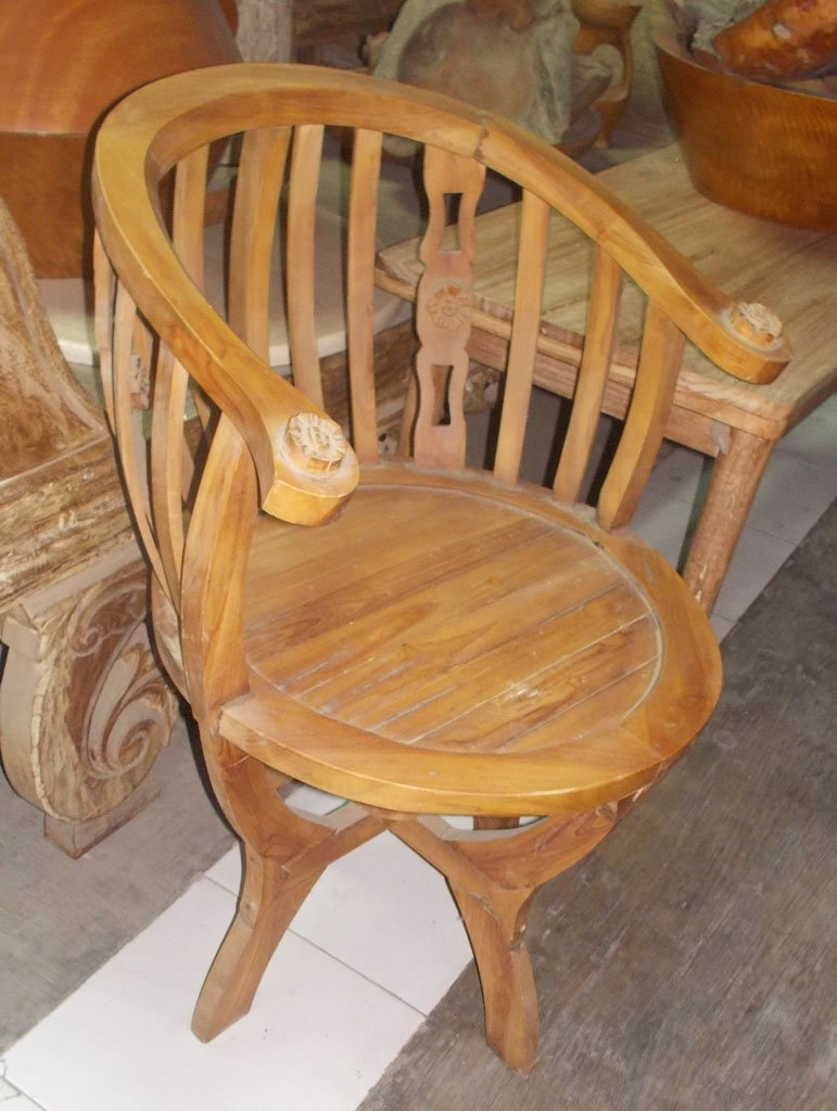 Teak Wood Chair GMV-5642
