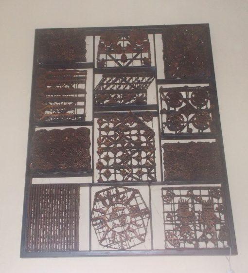 Batik Stamp Wall Decoration GMV-5684
