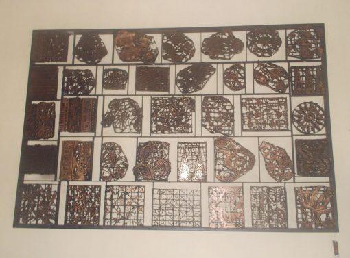 Batik Stamp Wall Decoration GMV-5685