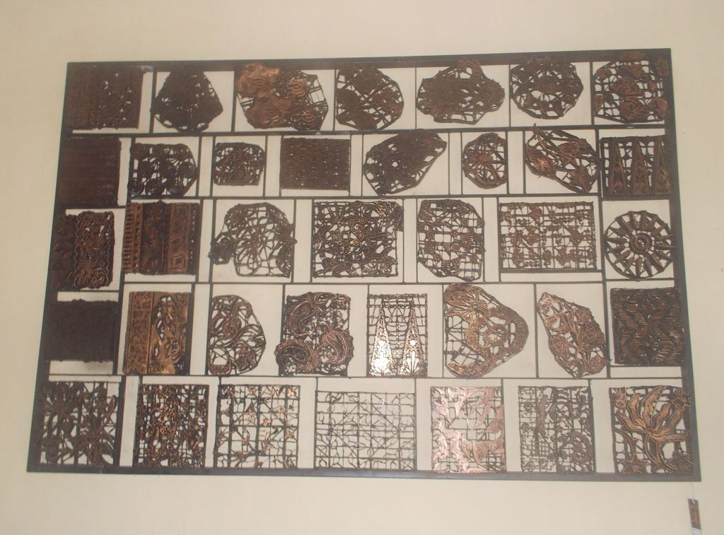 Batik Stamp Wall Decoration GMV-5685