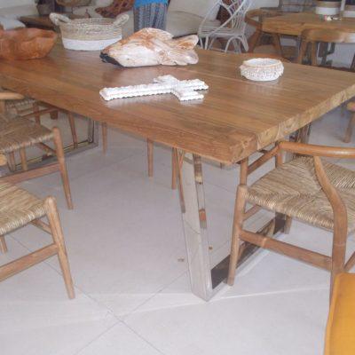 Teak Wood Table GMV-5714-1