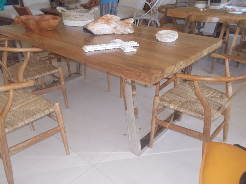 Teak Wood Table GMV-5714-1