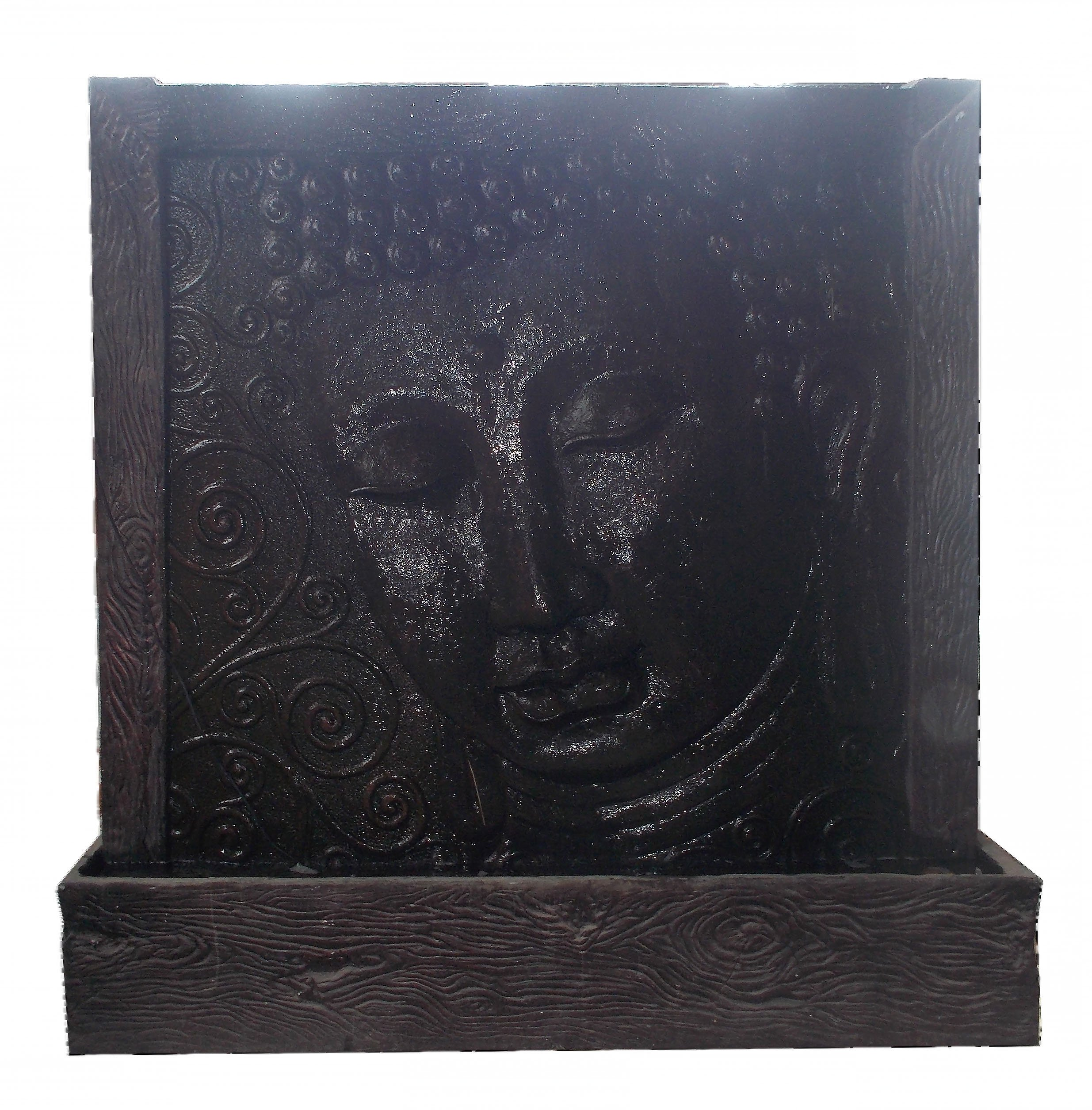 Resin Buddha  MULJ-004