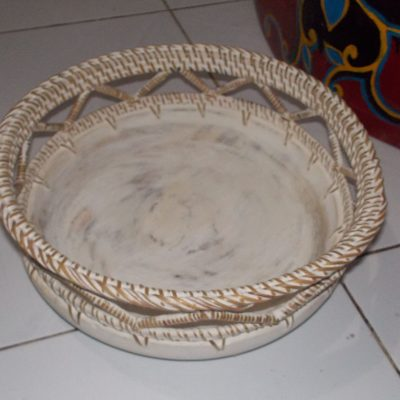 Rattan Bowls & Trays NMSTK-6057