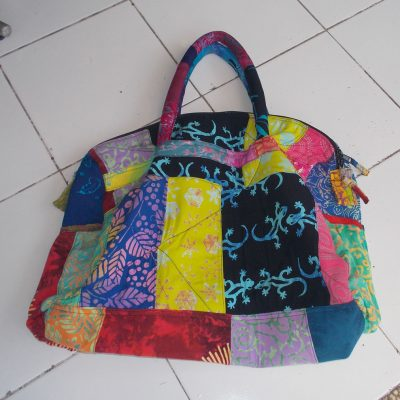Batik Patchwork Bag