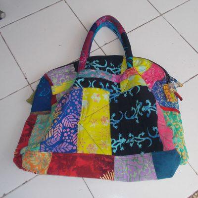 Batik Patchwork Bag