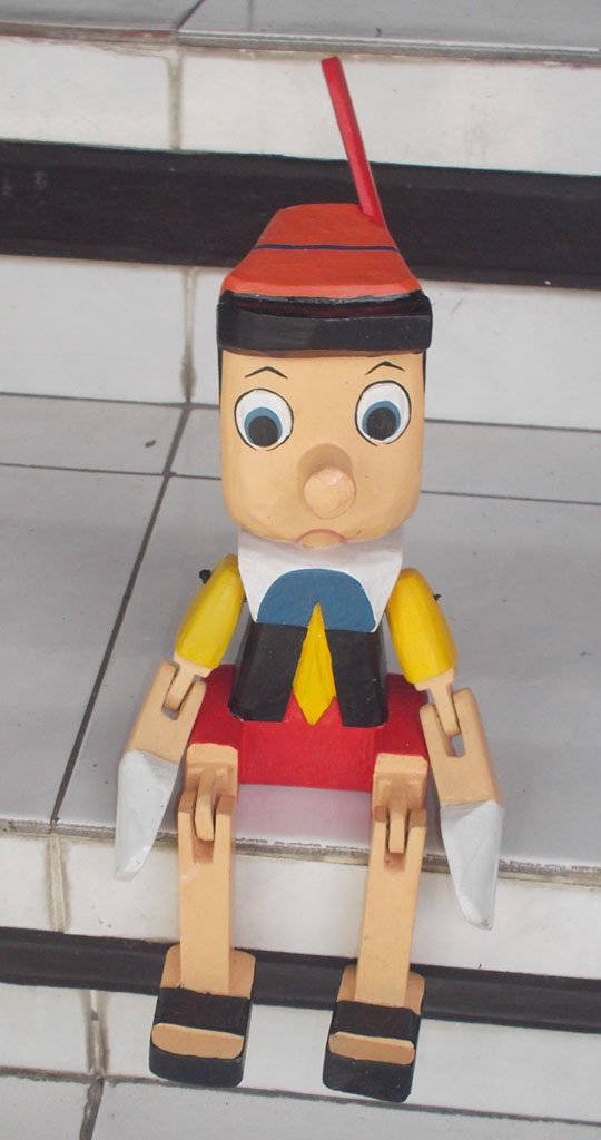 Pinocchio Puppet NMSTK-6072