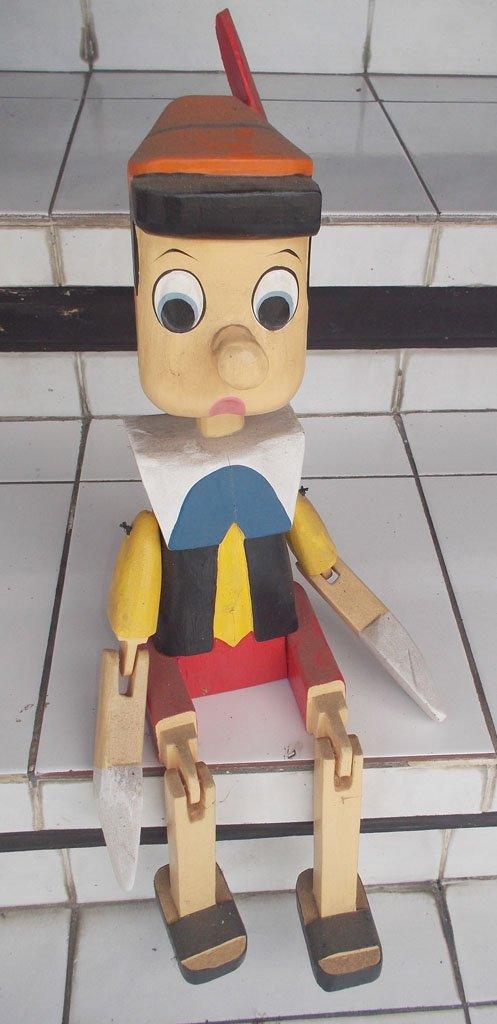 Pinocchio Puppet NMSTK-6073
