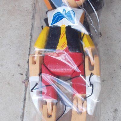 Pinocchio Puppet NMSTK-6097