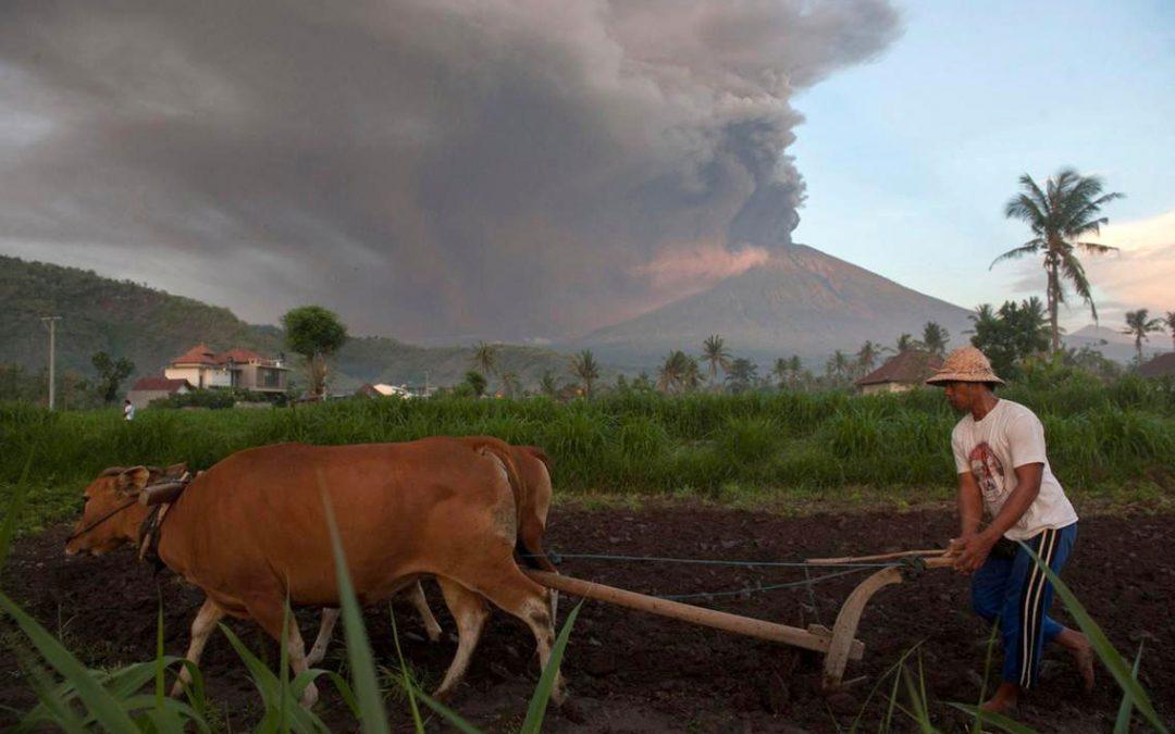 #Volcano #Agung