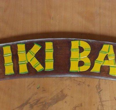 Handmade Albesia Wood Tiki Mask - PLTK-1483 - Wholesale from Bali