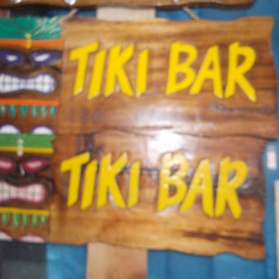 Handmade Albesia Wood Tiki Mask - PLTK-1484 - Wholesale from Bali