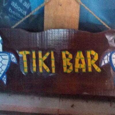 Handmade Albesia Wood Tiki Mask - PLTK-1485 - Wholesale from Bali