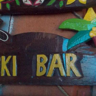Handmade Albesia Wood Tiki Mask - PLTK-1486 - Wholesale from Bali