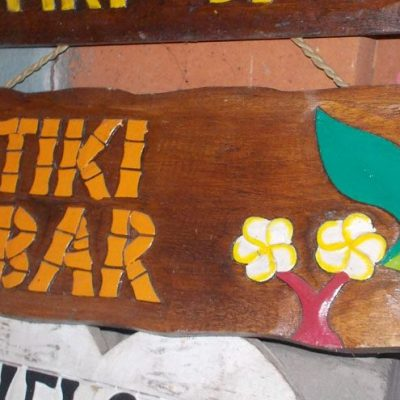 Handmade Albesia Wood Tiki Mask - PLTK-1487 - Wholesale from Bali