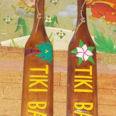 Handmade Albesia Wood Tiki Mask - PLTK-1489 - Wholesale from Bali