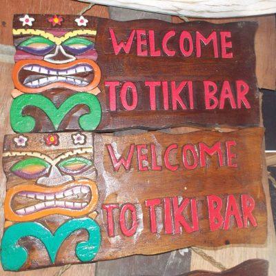 Handmade Albesia Wood Tiki Mask - PLTK-1490 - Wholesale from Bali