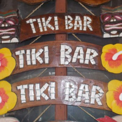 Handmade Albesia Wood Tiki Mask - PLTK-1492 - Wholesale from Bali