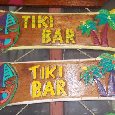 Handmade Albesia Wood Tiki Mask - PLTK-1495 - Wholesale from Bali