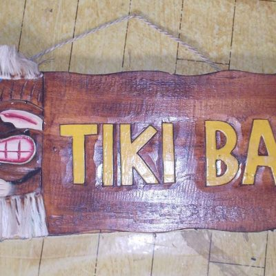 Handmade Albesia Wood Tiki Mask - PLTK-1496 - Wholesale from Bali