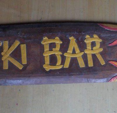 Handmade Albesia Wood Tiki Mask - PLTK-1505 - Wholesale from Bali