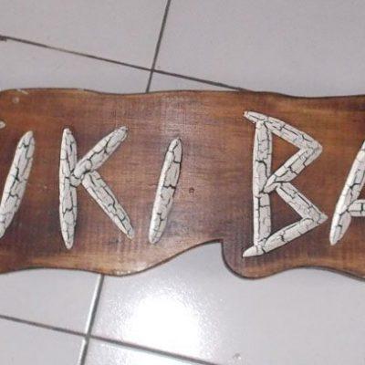 Handmade Albesia Wood Tiki Mask - PLTK-1510 - Wholesale from Bali