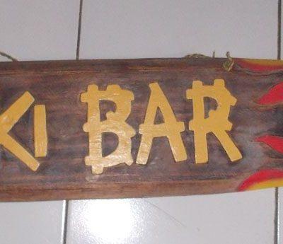 Handmade Albesia Wood Tiki Mask - PLTK-1513 - Wholesale from Bali