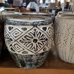 Carved Suar Wood Candle - Mixed Designs - CANDLE-3602
