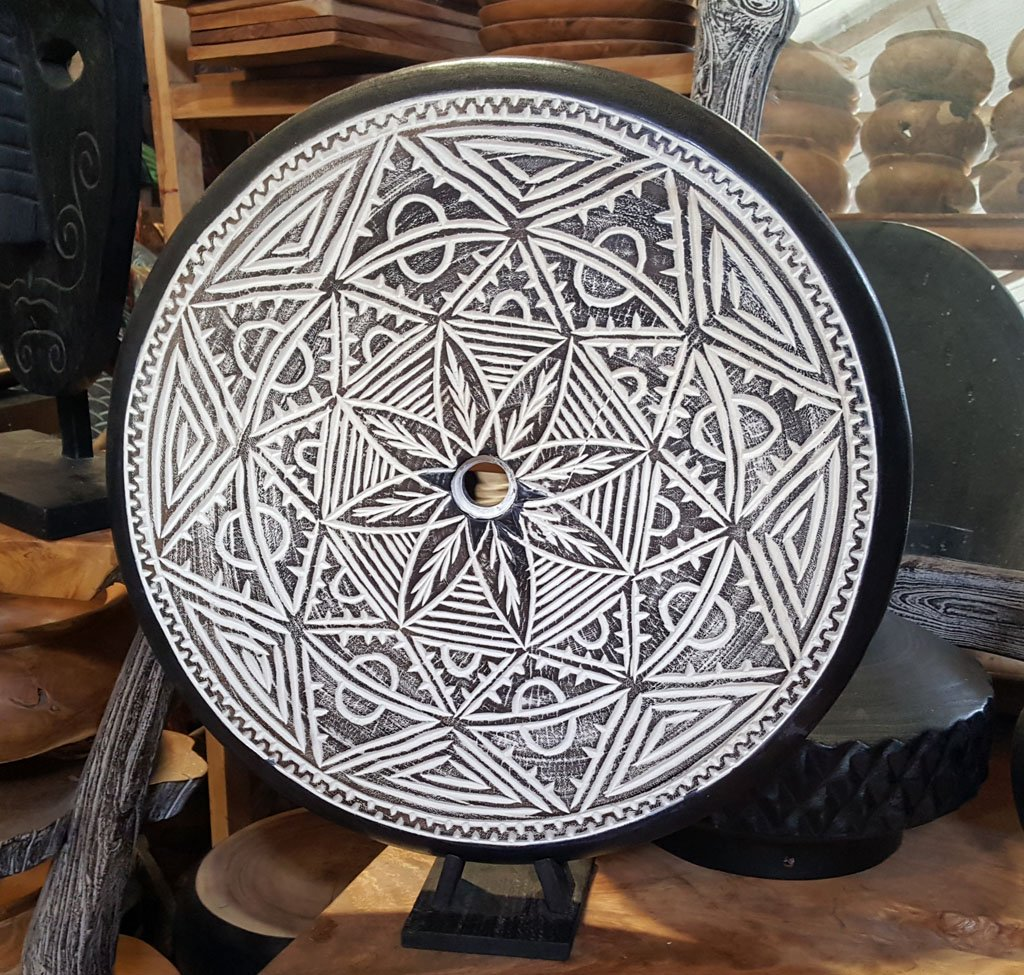 Suar Wood Decoration – CANDLE-3827 1
