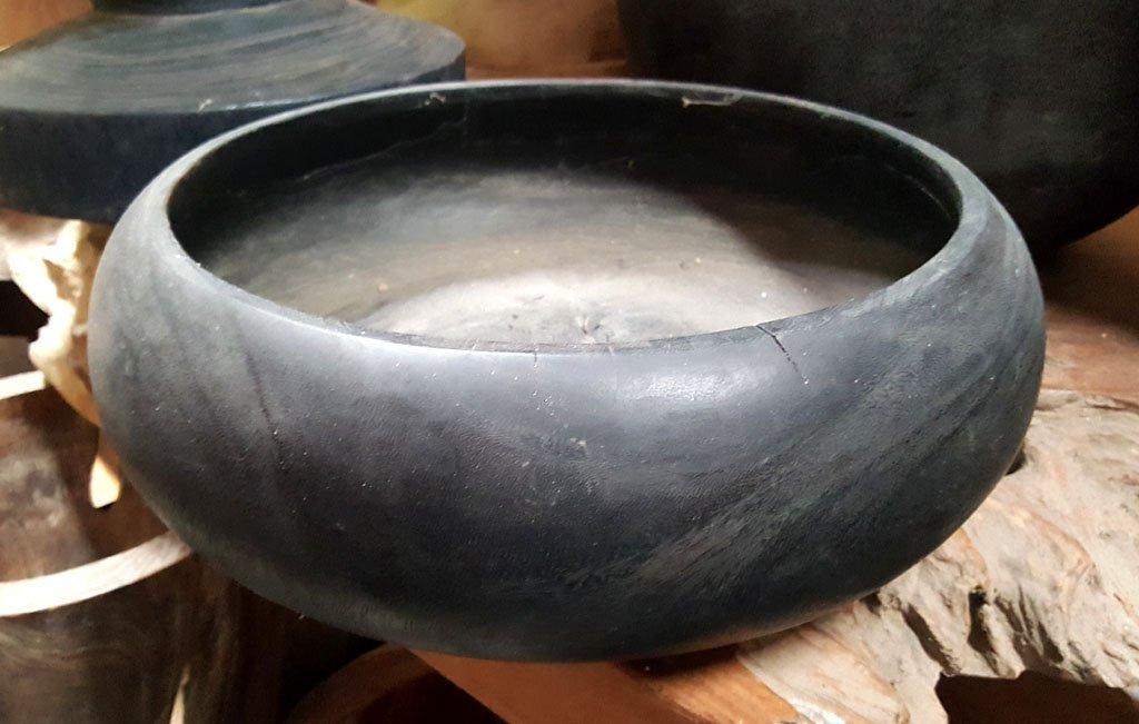 Suar Wood Bowl – CANDLE-3909 1
