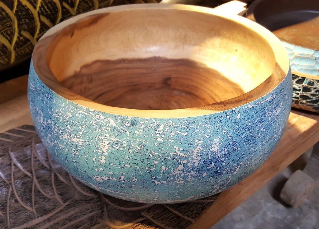 Suar Wood Bowl – CANDLE-4011 1