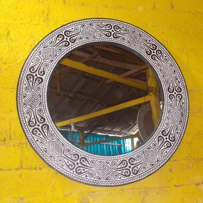 Suar Wood Mirror Frame - MIRROR-2957