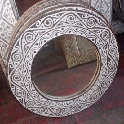 Suar Wood Mirror Frame - MIRROR-2959
