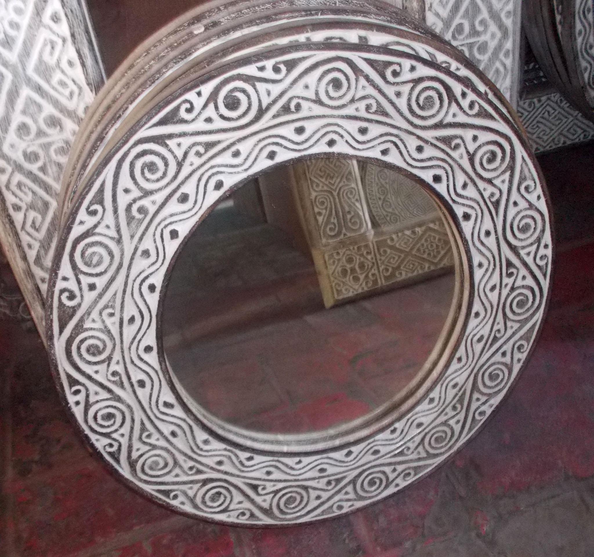 Suar Wood Mirror Frame – MIRROR-2959 1