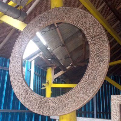 Suar Wood Mirror Frame - MIRROR-2960