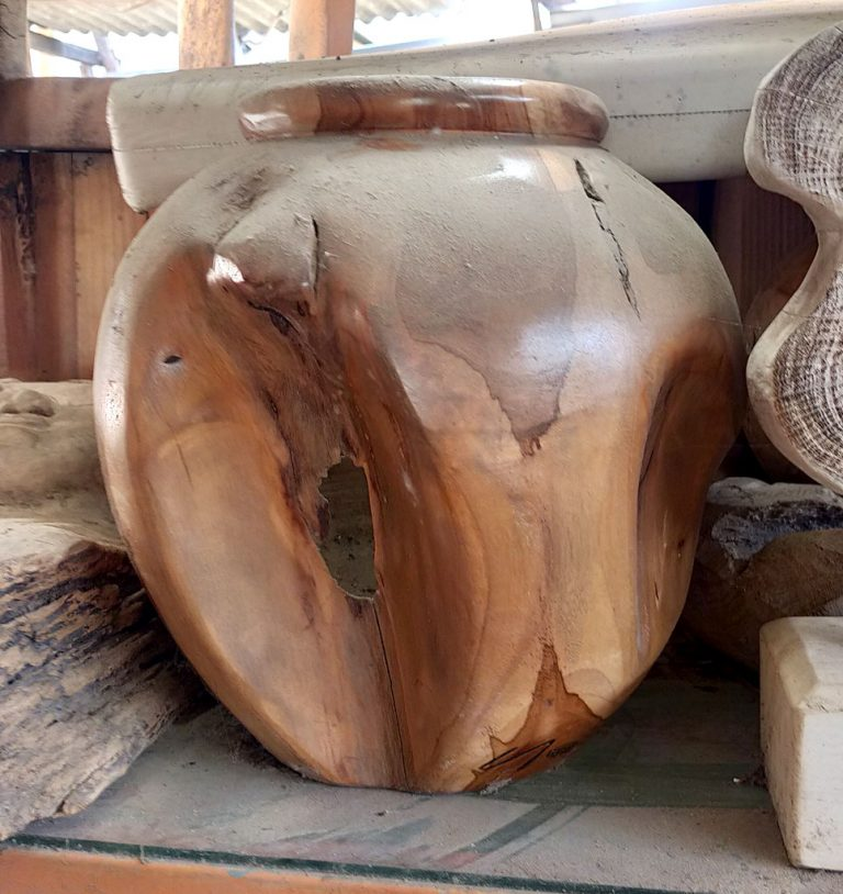 Teak Root Vases & Bowls – By Request