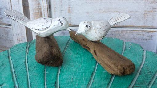 Albesia Wood Bird (Price Each) - MKD-002