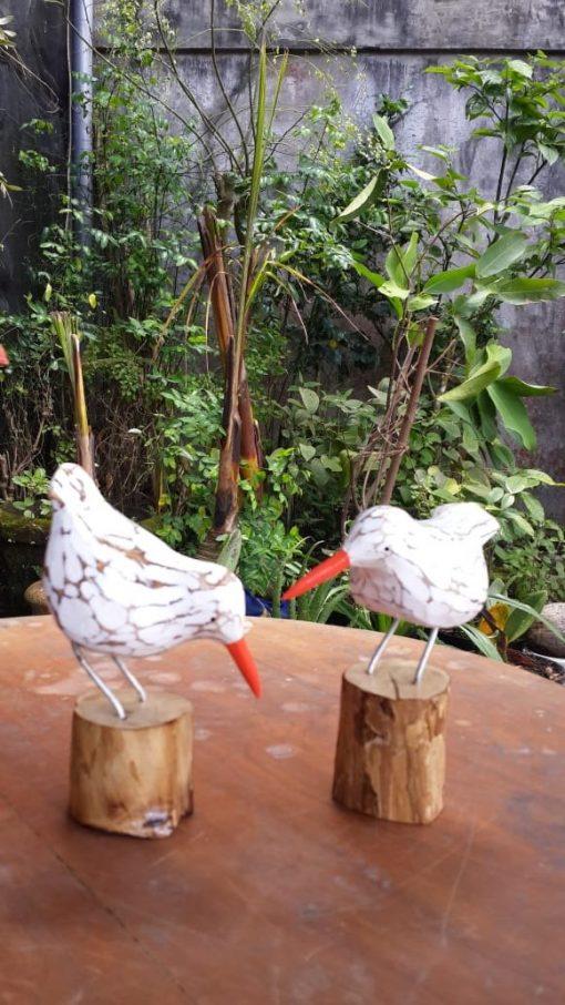 Albesia Wood Bird (Price Each) - MKD-007