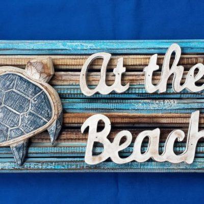 Albesia Wood Sign - MKD-030
