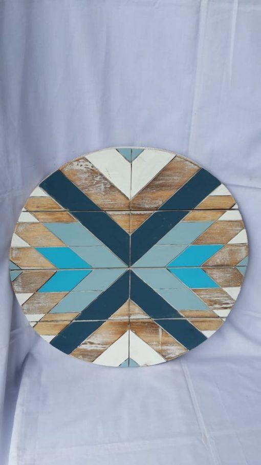 Albesia Wood Wall Decoration - MKD-033
