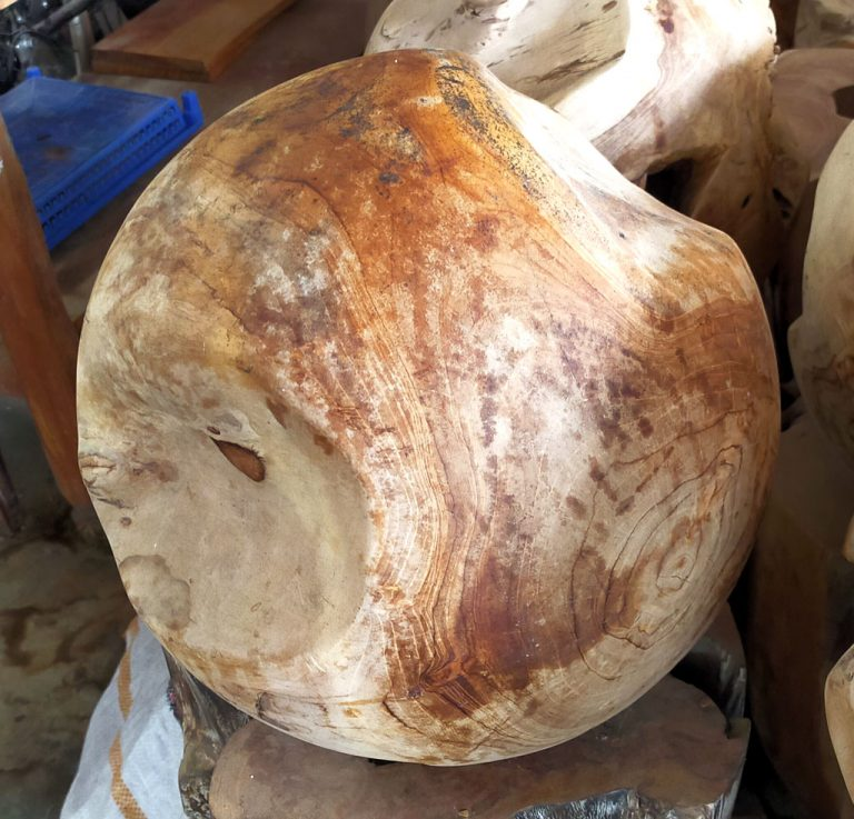 Teak Root Balls — Java Origin, Bali Finishing